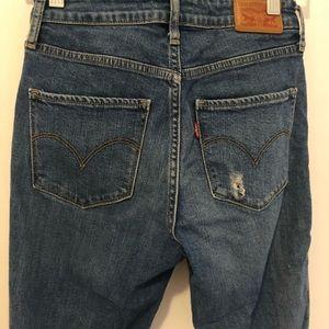 Levi's high rise skinny SZ 26 jeans